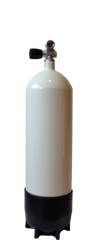 Eurocylinder 10L / 232Bar Stål